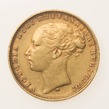 Full Gold Sovereign Victoria